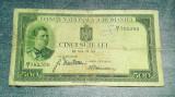 500 Lei 1934 Romania Carol al II-lea