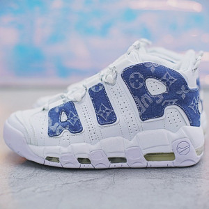 Nike Air More Uptempo x Louis Vuitton x Custom Unisex