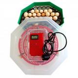 Incubator cu Termometru, Dispozitiv de Intoarcere Oua – Capacitate 41 Oua