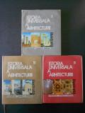 GHEORGHE CURINSCHI VORONA - ISTORIA UNIVERSALA A ARHITECTURII 3 volume