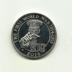 Marea Britanie - Primul Razboi Mondial - Medalie PROOF