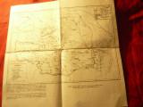Harta istorica - Armata Romana pe terit.Daciei (101-272)si al Dobrogei (sec.I-VI