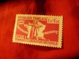 Serie mica 1943 Colonii Franceze- Pt.ajutorul militarilor ,3 valori, Nestampilat