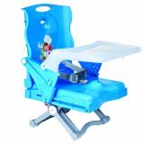 Booster pliabil Chef Plebani PB070, maxim 24 kg, albastru