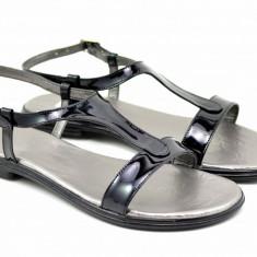 Sandale dama din piele naturala lacuita - S16N2LAC