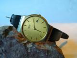 Ceas barbatesc vintage SEIKO clasic cu data, Sport, Quartz, Otel