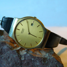 Ceas barbatesc vintage SEIKO clasic cu data