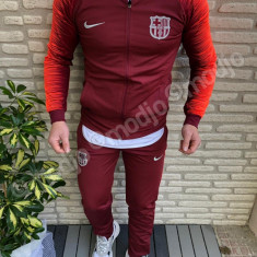 Trening FC BARCELONA noul model  2018-2019 PANTALONI CONICI SUPER CALITATE, L, M, S, XL, XXL, Bleu, Visiniu, Microfibra