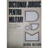 Dictionar juridic pentru militari
