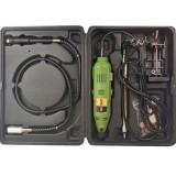 Trusa masina pentru gravat ProCraft PG400 Germania, 400 W, 8000-30000 RPM + set de burgie Autentic HomeTV