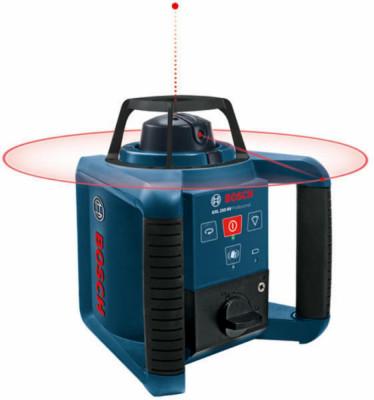 Bosch GRL 250 HV Nivela rotativa, receptor 125m, precizie 0.1 mm/m foto