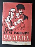 Brosura, Propaganda Politica si Sanitara emisa de Frontul Plugarilor. RPR 1949