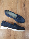 LICHIDARE STOC! Pantofi dama noi piele intoarsa naturala foarte comozi 37