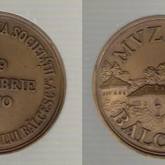 Medalie Muzeul Balcescu, Valcea - constituirea societatii 1970