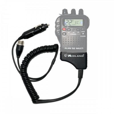 Resigilat : Adaptor Midland pentru alimentare 12V si antena exterioara pentru Alan foto