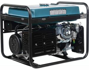 Generator curent trifazat KS 7000E-3 Könner & Söhnen, benzina, 5.5 kW, 13 cp, autonomie 17h, E-start, regulator tensiune AVR, 1x16A (230V), 1x16A (400