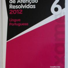 PROVAS DE AFERICAO RESOLVIDAS - LINGUA POTUGUESA , 6 ANO, 2012