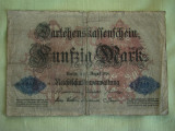 50 Mark / Marci 1914 GERMANIA - Lot de 2 Bucati / 1