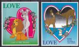 Palau 1996 Disney LOVE MI 997-1011 + 2 bl.41,42 MNH, Nestampilat