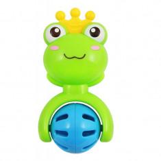 Jucarie zornaitoare pentru bebelusi BabyMix WD3348, Verde