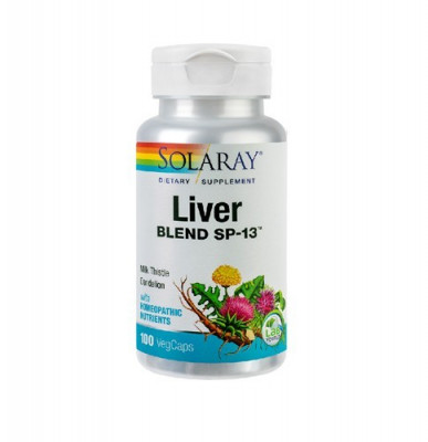 Liver Blend, 100cps, Solaray foto