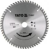 YATO Disc circular pentru aluminiu 180 x 20 x 2.4 T60