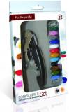 Set tirbuson plus accesorii pentru personalizat paharul de vin, FI044