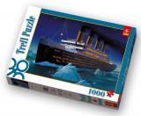 Puzzle clasic - Titanic, 1000 piese, Carton, Trefl