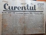 curentul 2 ianuarie 1932-numar special de anul nou