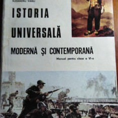 ISTORIE UNIVERSALA MODERNA ȘI CONTEMPORANA, CLASA A VI A - DUMITRU ALMAS & COLAB