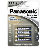 Baterii Panasonic Everyday Power LR03/AAA 4 bucati