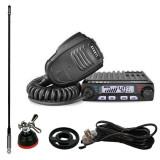 Pachet statie radio CB Avanti Supremo cu antena Sirio T3/27 , adaptor si suport