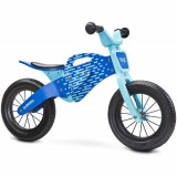 Bicicleta fara Pedale din Lemn Enduro 2018 Blue, Toyz