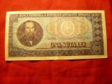 Bancnota 100 lei 1966 N.Balcescu , cal.f.buna
