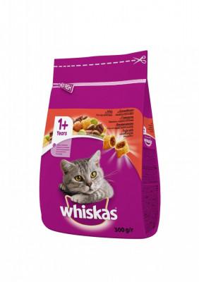 Hrana uscata pentru pisici Whiskas, Vita Ficat, 300g foto