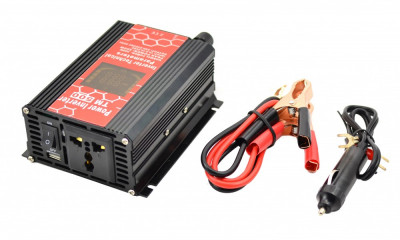 Invertor auto 500W Chaomin CPU CONTROL 12V - 220V cu iesire USB foto