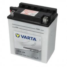 Baterie moto Acid cu intretinere VARTA 12V 14Ah 190A L+ aerisire stanga 136x91x166 Incarcare uscata cu acid
