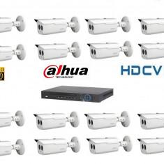 Kit Supraveghere Video 2 Megapixel Exterior HD-CVI Dahua v2