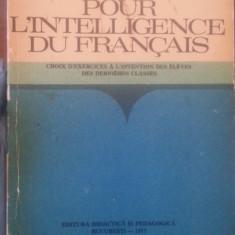 Pour l'intelligence du francais – Aristita Negreanu