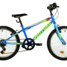Bicicleta Copii Venture 2017 Albastru 20