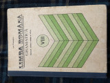 Limba romana, gramatica, manual pentru clasa a VIII-a, 1981, Clasa 8, Manuale