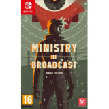Ministry Of Broadcast Badge Collector S Edition Nintendo Switch Game