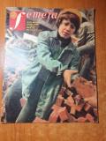 Revista femeia aprilie 1977-art. si foto cutremurul din martie,cantarea romaniei