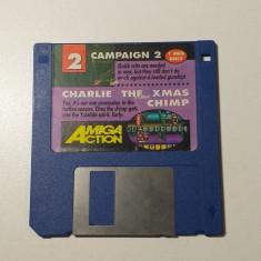 Joc AMIGA Campaign 2 + Charlie the XMAS Chimp - DEMO - G
