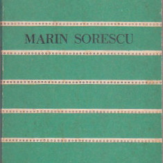 MARIN SORESCU - POEME