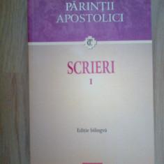 d3 Parintii apostolici - Scrieri I. Editie bilingva (carte noua)