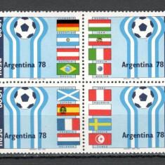 Peru.1978 C.M. de fotbal ARGENTINA  bloc 4  DF.255