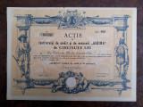 500 Lei 1922 Albina Sibiu / actiuni vechi / actiune veche Romania