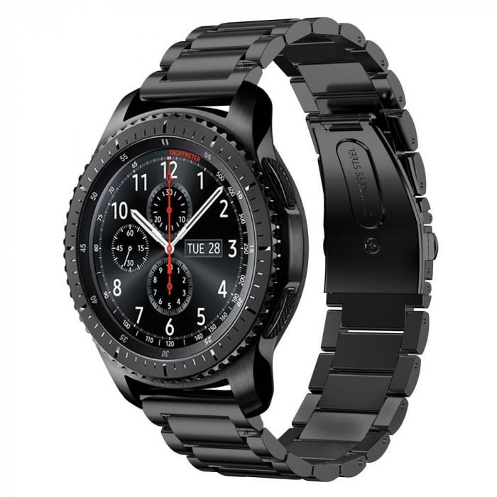 Curea metalica 22mm Samsung Galaxy Gear S3 Classic Frontier Galaxy Watch 3 46mm