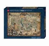 Cumpara ieftin Puzzle Heye Pirate World, 2000 piese